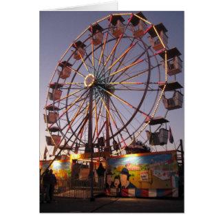 Farmingdale Ferris Wheel Greeting Card