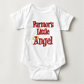 Farmor's Little Angel Baby Bodysuit