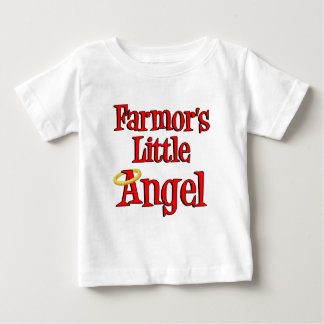 Farmor's Little Angel Baby T-Shirt