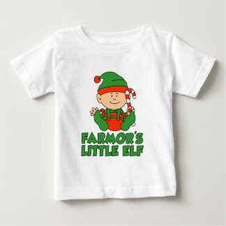 Farmor's Little Elf Baby T-Shirt