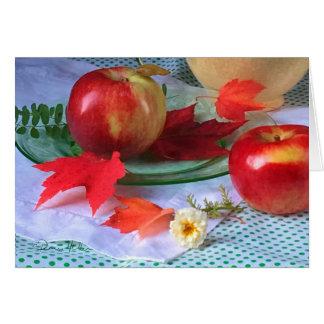 FARMphemera!  Apples and Antiques 2017:  close up Card