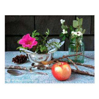 "FARMphemera.com ""Antiques & Wild Rose"" postcard"