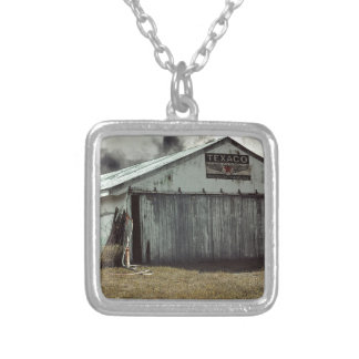 farmshed silver plated necklace