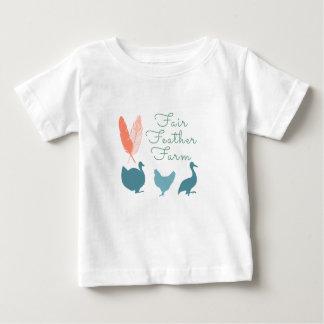 FarmTransparentFair Feather Farm Logo Baby T-Shirt