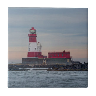 Farne Islands Lighthouse small square tile