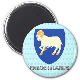 Faroe Islands Coat of Arms Magnet