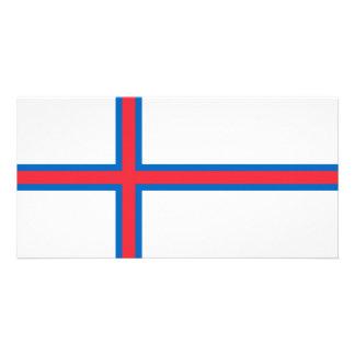 Faroe Islands Flag Photo Cards