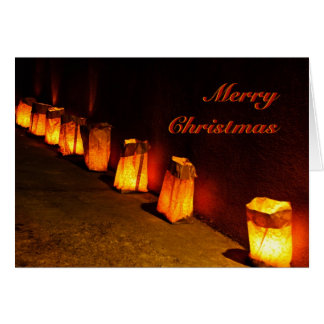 Farolito (Luminaria) Christmas Walk Cards