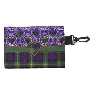 Farquarson clan Plaid Scottish tartan Accessories Bags