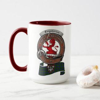 Farquharson Clan Badge Combo 15oz Mug