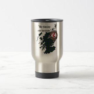 Farquharson Clan Badge Travel Mug