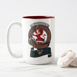 Farquharson Clan Badge Two Tone 15oz Mug