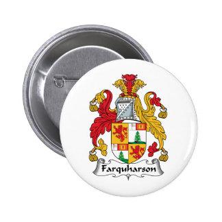 Farquharson Family Crest 6 Cm Round Badge