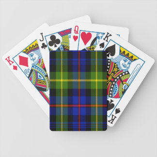 Farquharson Scottish Tartan Bicycle Playing Cards