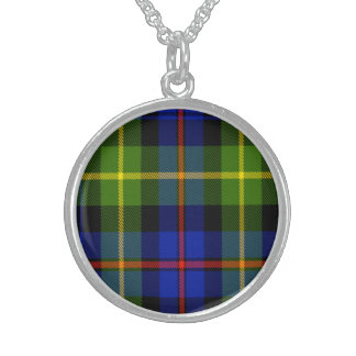 Farquharson Scottish Tartan Sterling Silver Necklaces