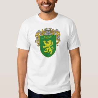 Farrell Coat of Arms (Mantled) Shirts