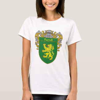 Farrell Coat of Arms (Mantled) T-Shirt