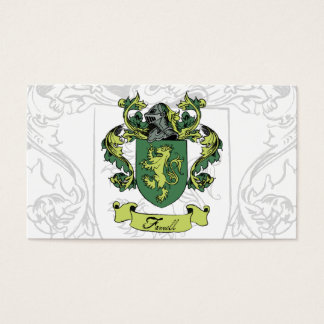 Farrell Family Crest Business Cards