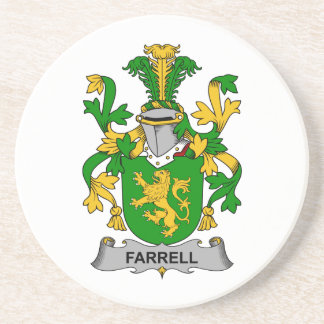 Farrell Family Crest Coaster