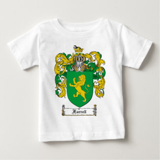FARRELL FAMILY CREST -  FARRELL COAT OF ARMS BABY T-Shirt