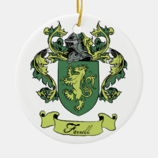 Farrell Family Geneology Crest Ornament