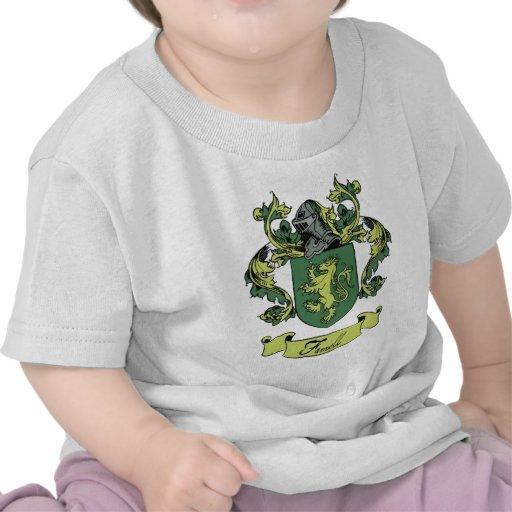 Farrell Family Heraldry Crest T-shirt