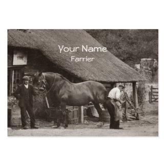Farrier business card