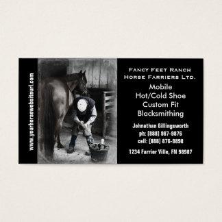 Farrier - Horseshoe Horse Hoof Services.