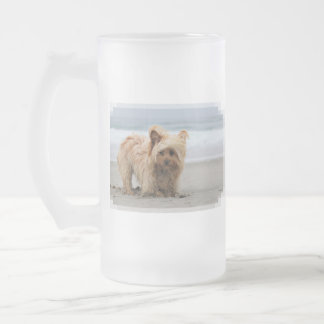 Farris - Lucy - Mixed Breed Frosted Glass Beer Mug