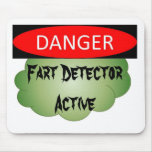 Fart detector mousemat