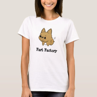 Fart Factory Hanes T-Shirt for Women (Fawn)