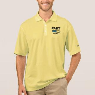 Fart Loading Please Wait Polo Shirt