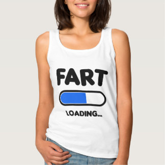 Fart Loading Please Wait Singlet