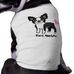 Fart Machine (boston terrier) Sleeveless Dog Shirt
