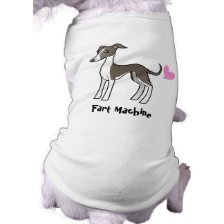 Fart Machine (greyhound / whippet / iggy) Shirt