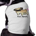 Fart Machine (pug) Sleeveless Dog Shirt