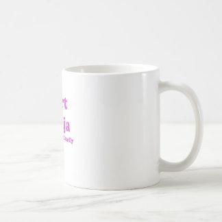Fart Ninja Silent but Deadly Classic White Coffee Mug