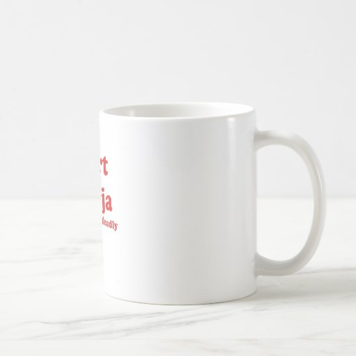 Fart Ninja Silent But Deadly Coffee Mug
