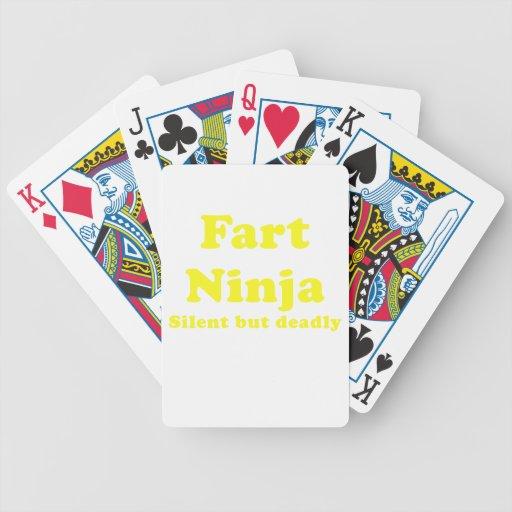 Fart Ninja Silent but Deadly Card Decks