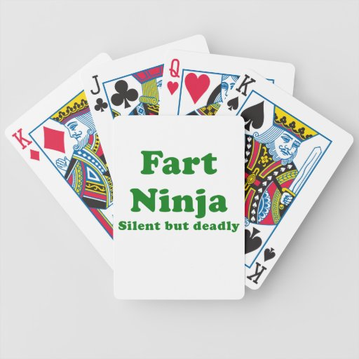 Fart Ninja Silent but Deadly Deck Of Cards