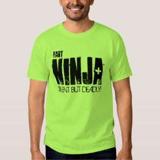 Fart Ninja, Silent but deadly t-shirt! T Shirt