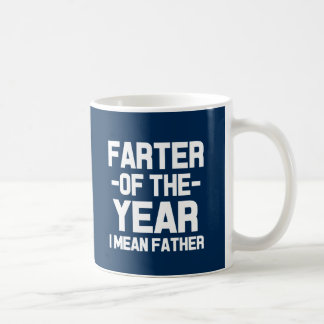Farter of the Year Funny Dad Coffee Mug
