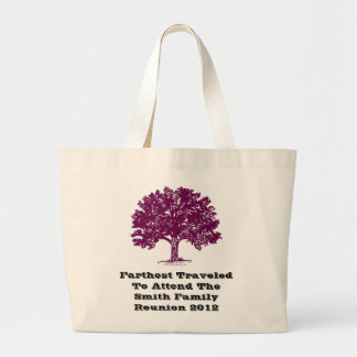 Farthest Traveled to Family Reunion Tote Bag