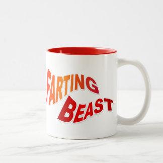 FARTING BEAST - hilarious innuendo humor Mug