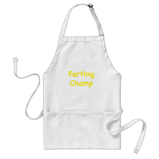 Farting Champ Standard Apron