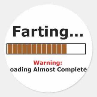 farting full sticker