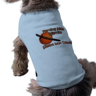 Farting Ninja Warrior Silent but Deadly Dog Shirt