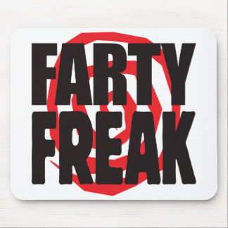 Farty Freak Mouse Pad