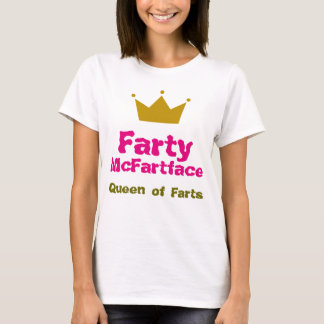 Farty McFartface - Queen of Farts T-Shirt