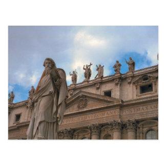Fascade of St Peter's Postcard